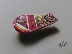 Drawing: the Marty McFly's Hoverboard by marcellobarenghi.deviantart.com on @deviantART