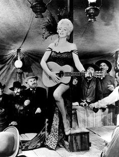 RIVER OF NO RETURN, Marilyn Monroe, 1954.