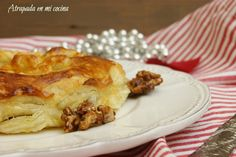 Hojaldres de queso brie y nueces