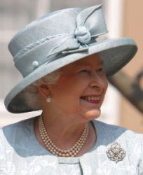 Queen Elizabeth, April 24, 2011 in Rachel Trevor Morgan | Royal Hats
