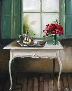Janet Hill — The Silver Tea Pot (1260x1600)