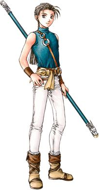 Suikoden II - Jowy Atreides. You are my second love. I could never kill you.