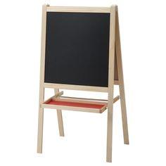 MÅLA Easel, softwood, white - IKEA Ikea Mala, Ikea Easel, Drawing Paper Roll, Ikea Family, Blackboards, Fibres, Solid Pine, Good Grips, Packaging
