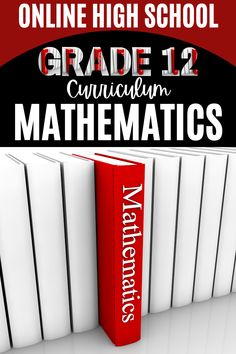 Students should have a demonstrable understanding of the concepts covered in Algebra 2 before enrolling in the next #mathematicscourse #grade12 #algebra #onlinehighschoolcourse School Routine For Teens, School Routines, School Hacks, Online High School Courses, Curriculum, Homeschool, High School Diploma, Algebra 2, School Grades