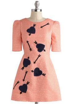 That's My Cupid Dress, #ModCloth  Francie/Lavinia