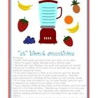 Let your students make their own smoothies while working on /st/ blends!  This game includes 8 pages of /st/ word cards: including 24 initial /st/ ...