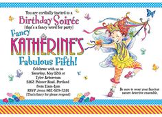 Fancy Nancy Personalized Printable by CarlyGriffithDesigns on Etsy