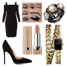 """""""Black nude"""" by hoodchick ❤ liked on Polyvore featuring Elie Tahari, Gianvito Rossi and Chanel"""