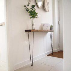 Rustic Hallway Table, Rustic Console Tables, Narrow Console Table, Entryway Tables, Rustic Table, Diy Table, Hallway Console Table, Narrow Hallway Table, Narrow Hallway Decorating