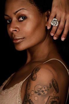 Nneka Goforth  ring light portrait byDwayne Michael Campbell — withNneka GoforthandDwayne Michael Campbell.