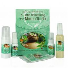 A Little Something for Mama-to-Be Oganic Gift Set | whatgiftshouldiget.com