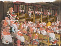 Mauri Kunnas Christmas Tale, Christmas Illustration, Elves, Bujo, Pixie, Literature, Folk, Author, Illustrations
