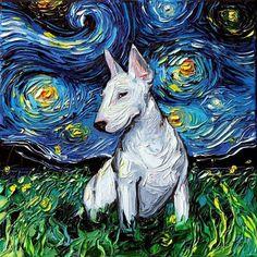 nouveau /& boxed.full corps English bull terrier chien Horloge Murale