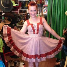 Anna looks so adorable in this Gunne Sax inspired number which is still available for just $30!