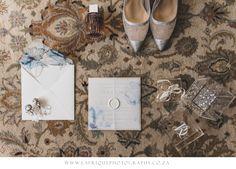 lay flat photography, birds eye view. BRIDAL WEDDING DETAILS  Photography: LAFRIQUE PHOTOGRAPHY  Location: MEMOIRE WEDDING VENUE SOUTH AFRICA