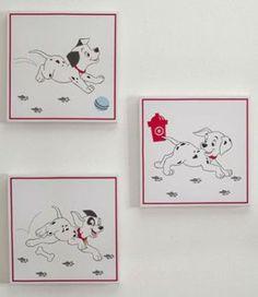 Amazon.com: Disney 101 Dalmatians Canvas Wall Art - Set of 3: Baby