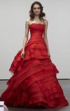 9 best red wedding dresses images on pinterest alon livne wedding red wedding dress junglespirit Choice Image
