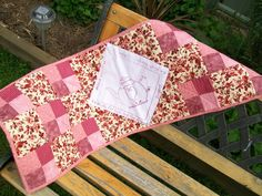 Table runner I stitched