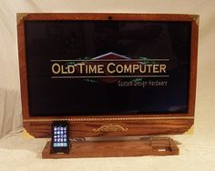 Steampunk iPad and iPhone Docks Handcrafted by Hot Rod Car Designer
