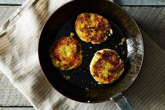 Mashed Potato Cakes with Broccoli and Cheese, a recipe on Food52