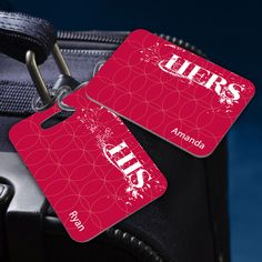 Bridal Gifts His and Hers Luggage Tags $23.39