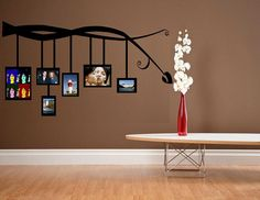 vinyl wall decal tree Branches with Hanging by WallDecalsAndQuotes, $31.95