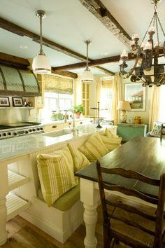Cozy interior, vintage decor, lots of space