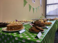 Mouth-watering cakes available for one day only at our MacMillan Coffee Morning event! Macmillan Coffee Morning, One Day Only, Morning Coffee, 30th, September, Friday, Cakes, Desserts, Food