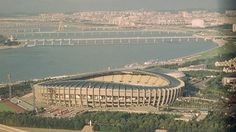 Jamsil Olympic Stadium - Seoul - Summer 1988. Architect: Kim Swoo Geun.