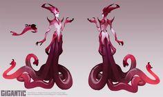GIGANTIC - Bloodwitch Xenobia Skin by Gorrem