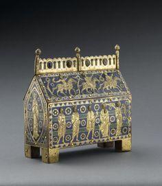 Châsse de l'Adoration des mages - N° Inventaire : Cl. 23822  Musée de Cluny