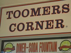 Toomers Corner  - Auburn University Best lemonade ever!