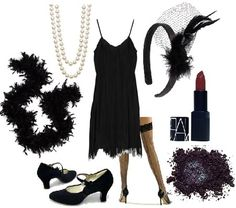 flapper theme- not my creation, but this is certainly my style!!