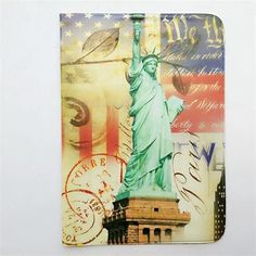 2017 Vintage Passport Cover Travel Business Couples Passport Holder PVC Card ID Holders Passport Package 9.3*13.5CM 35G