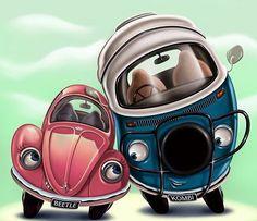 Volkswagen Käfer & Kombi lieben – serif – Join the world of pin Volkswagen Transporter, Volkswagen Bus, Vw T1, Wolkswagen Van, Carros Vintage, Combi Wv, Vw Camping, Beetle Car, Vw Vintage