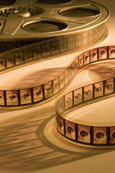 Let's go to the movies - vintage movie reels in sepia brown Movie Reels, Film Reels, Movie Reel Decor, Golden Age Of Hollywood, Old Hollywood, Hollywood Theme, Old Movies, Vintage Movies, Beloved Movie