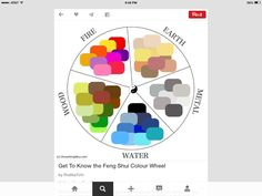 What is the connection between feng shui and colour? Is there really a colour wheel in feng shui? The feng shui colour wheel might look very diff Cores Feng Shui, Feng Shui Dicas, Consejos Feng Shui, Couleur Feng Shui, Feng Shui Colours, Feng Shui House, Creating Positive Energy, Color Psychology, Color Pallets