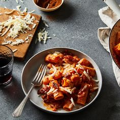 Amatriciana: posher than puttanesca, less boring than marinara. (They're all lovely, though!)