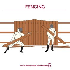Fencing humor | When my son told them he was a fencer, they told him landscaping was a good way to earn extra cash...they thought he was a fence builder...hahahahah