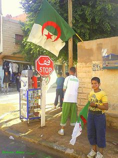 """"""" one .. two ...three ...viva l'ALGERIE """" !!!!! by Opusbey, via Flickr"""