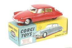 Mettoy Corgi Toys No.210S Citroen DS19 1960-65