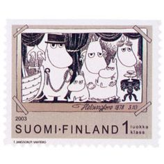 Tove Jansson, Postage Stamps, Finland, Heart, Paper, Cute, Kawaii, Stamps, Hearts