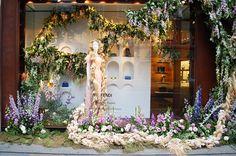 Fendi window display, London