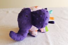 Plush Elephant. $18.15 USD. Made by our talented refugee artisans at We Made This. Get one at www.etsy.com/shop/wemadethisdenver