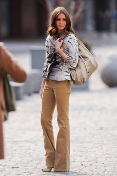 hb - no al bolso pequeño o lady like con pantalón de campana