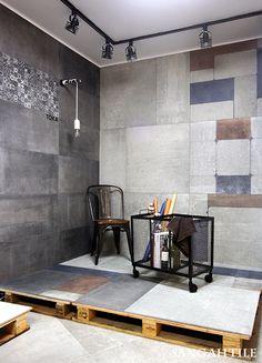 TOKA /by FONDOVALLE  럭셔리함과는 또다른 빈티지함까지  소화가 가능한 toka.  #tile #tiles #Sangahtile…