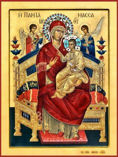 Religious Images, Religious Icons, Religious Art, Byzantine Icons, Byzantine Art, Christian Religions, Blessed Mother Mary, Orthodox Icons, Character Design References