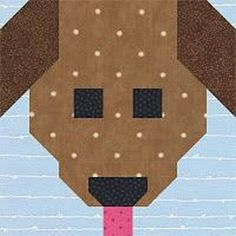 Scrappy Puppy from Kelli Fannin Quilt Designs