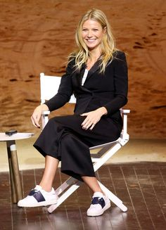 READY TO TALK Gwyneth Paltrow spoke onstage at the 3rd Annual Airbnb Open Spotlight in Los Angeles on Saturday. Star Tracks: Sunday, November 20, 2016
