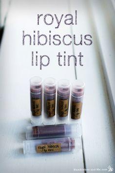 Humblebee and Me Hibiscus lip tint